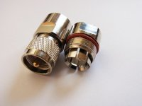 "Rapid Fit  Plug UHF type Connector for   1/2"" Cable 50 ohm"
