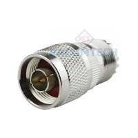 UHF PO239  female to N type  plug 50ohm