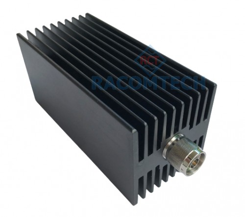 ATS-100W-8GHz-NS ( 40dB )  RF coaxial  fixed attenuator with 100W power and DC to 8GHz frequency bandwith, 10dB, 20dB, 30dB, 40dB attenuation value