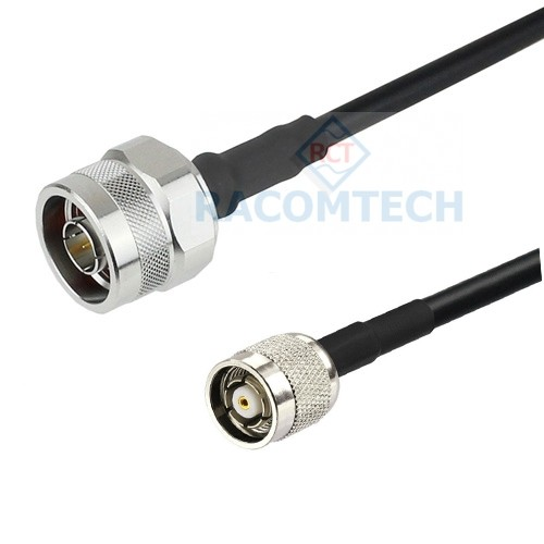 N male to RP-TNC male LMR195 Times Microwave Coax Cable Feature:  Impedance: 50 ohm,  Low loss:  100 pcs)