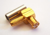 MCX Right Angle Plug (male) for RG316 LMR100 cables