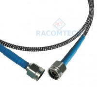 Armoured RF Test Cable N Male to N male ( Stainless Steel Passivated )