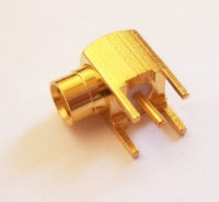 MCX PCB Right Angle  Socket
