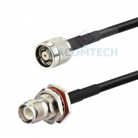 RP-TNC male to RP-TNC female LMR195 Times Microwave Coax Cable RoHS