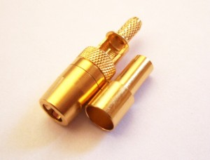 SMB crimp plug for RG316 LMR100 cables SMB crimp plug for RG316 LMR100 cables