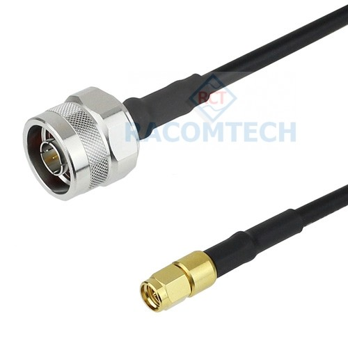 N male to SMA male LL195 LMR195 equiv Coax Cable RoHS Feature: