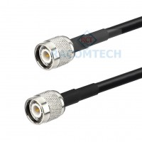 TNC male to TNC male LMR195 Times Microwave Coax Cable RoHS