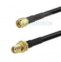 SMA male to SMA female LMR195 Times Microwave Coax Cable RoHS