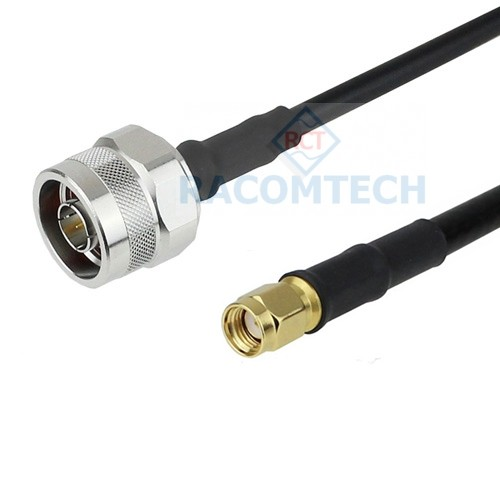 N male to RP-SMA male LMR195 Times Microwave Coax Cable RoHS Feature:
