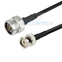 N male to BNC male RG58 Coax Cable RoHS